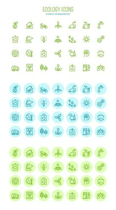 Free Download: Vector Ecology Icons