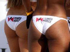 Futbol Playa.Cheerleaders del Barcelona Beach Soccer 2015 Foto: PEP MORATA