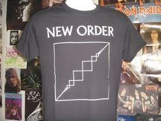New Order T-shirt (FREE SHIPPING in the Usa only) Joy Division Blue Monday Depeche Mode Pet Shop Boys Post-punk Goth True Faith