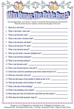 Bridal shower games.... bridal-shower-bachelorette-party-ideas
