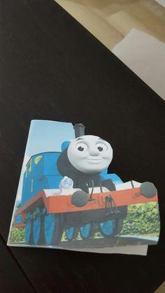 Biglietto auguri compleanno trenino Thomas