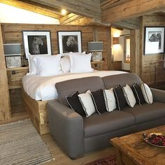 Room for the night  Ce soir on dort à 1850 mètres  #megeve