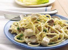 Chicken Tetrazzini Recipe from Betty Crocker- my favorite way to use leftover chicken