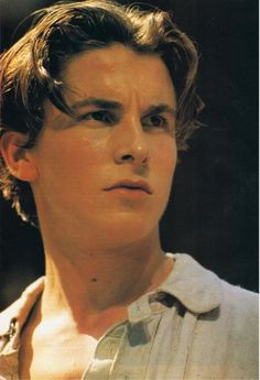 I remember when I first watched Newsies and fell in love with Christian Bale. One of the highlights of my life, definitely. :)