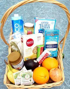 Healthy Living Gift Basket