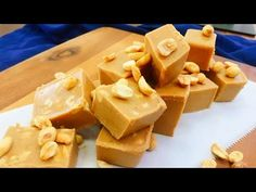 Time for a peanut butter honey fudge treat! These are melt in your mouth DECADENT. You really only need one square and you're good. Made of all natural ingre...
