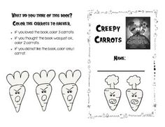 Creepy Carrots Literature Response