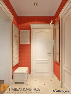 Прихожая - ideas to steal Apartment Entryway, Apartment Design, Neoclassical Interior, Indoor Doors, Hallway Decorating, My Room, Bed Frame, Cool Furniture, Living Room Designs