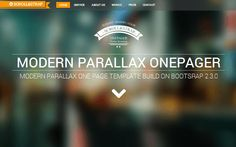 Scroll | Bootstrap Responsive Template