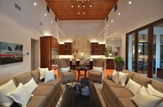 2012 Parade Of Homes--Dominion contemporary living room