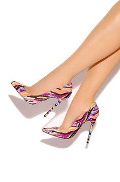 Mystique - Pink - Lola Shoetique