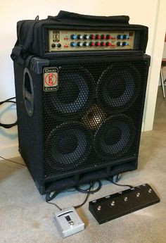Eden World Tour WT-1205 head + 4x10 w/ tweeter cabinet. includes manuals and foot controler Howell Furniture, Jukebox, Tours, Cabinet, Clothes Stand, Closet, Cupboard, Vanity Cabinet, Lockers