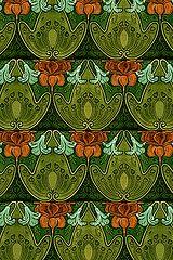 Art Nouveau Tile iPhone Wallpaper   Flickr - Photo Sharing!