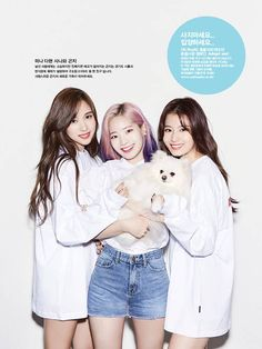 【 Twice for OhBoy! Anniversary Issue 】‹ We're on cloud 9 ›