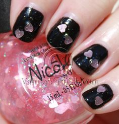 Nicole by OPI - Love Your Life (over black)
