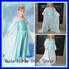 Elsa Ice Dress Tutorial