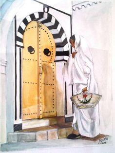 Arabian Art, Moroccan Art, Simple Acrylic Paintings, Art Club, Ancient Art, Islamic Art, Painting & Drawing, Amazing Art, Book Art