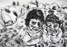 Two Children at Idomeni