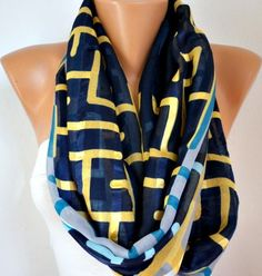 Infinity Scarf Shawl Circle Scarf  Loop  Scarf Gift by anils, $19.50