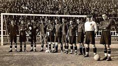 Equipos de fútbol: BARCELONA contra Servette 11/02/1923
