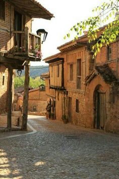 Calatañazor - Soria, Spain - Motocycle Tutorial and Ideas Places Around The World, The Places Youll Go, Travel Around The World, Places To See, Places To Travel, Around The Worlds, Wonderful Places, Beautiful Places, Medieval Village