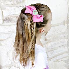 Hairstyles   Hair Ideas   Hairstyles Ideas   Braided Hair   Braided Hairstyles   Braids for Girls   Braids for Little Girls   Toddler Hairstyles   Toddler Hair Ideas   Braids   Updos   Half Up   Ponytails   French Braid