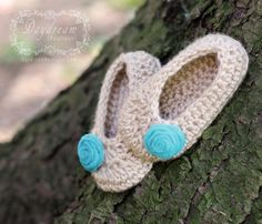 LOVE these crochet baby shoes!!!