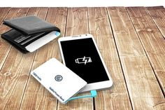 I just bought Credit Card-Shaped Smartphone PowerBank  (now £6) via @wowcher