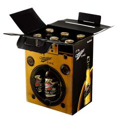 Miller Boom Box: The idea was to attract attention to and to make Miller the preferred brand among other six packs in the summer when beer consumption spikes.