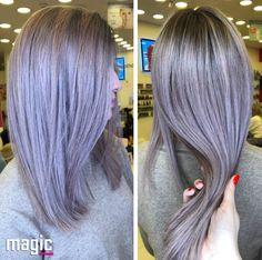 Gri Metalic Magic Hair, Long Hair Styles, Beauty, Long Hairstyle, Long Haircuts, Long Hair Cuts, Beauty Illustration, Long Hairstyles, Long Hair Dos