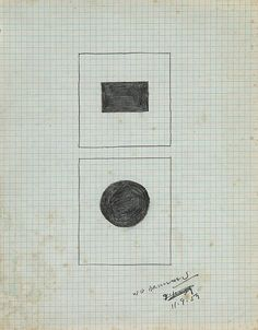 Walter Darby Bannard (Represented), Untitled 1959, Pencil on paper