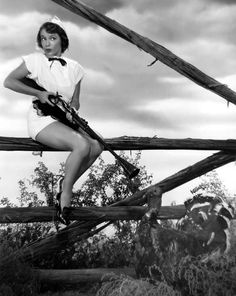 Turkey Hunt with Virginia Gibson, 1952