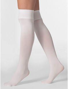 Opaque Over-the-Knee Sock