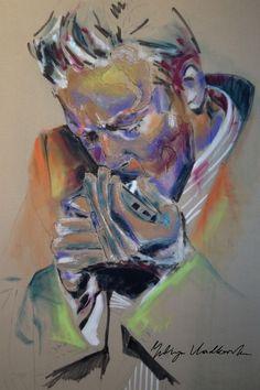 """Saatchi Online Artist: Yuliya Vladkovska; Acrylic 2013 Painting """"the last one"""""""