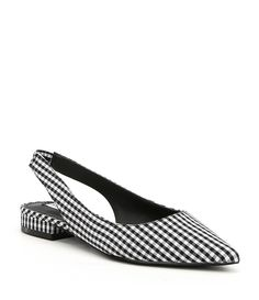 Shop for Steve Madden Envi Gingham Slingback Block Heel Slip-Ons at Dillards.com. Visit Dillards.com to find clothing, accessories, shoes, cosmetics & more. The Style of Your Life.