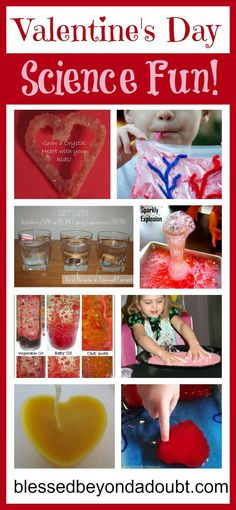 Valentines science projects