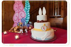 Wedding Cake - Alice in Wonderland Wedding Theme