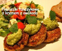 Placuszki tuńczykowe z kremem z awokado | W kuchni bez dubli – blog kulinarny – Marieta Marecka