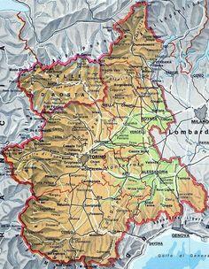 Mappa del friuli venezia giulia cartina del friuli venezia giulia mappa del piemonte cartina del piemonte thecheapjerseys Choice Image