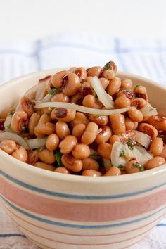 Black-Eyed Pea Salad : Never Enough Thyme