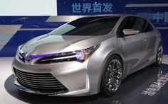 Toyota Concept May Preview Corolla Hybrid Sedan - 2013 Shanghai - WOT on Motor Trend