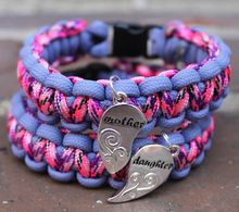 Paracord Bracelets - Matching Bracelet Set Mother/Daughter