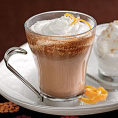 Drink up the warm comfort of these delicious recipes for hot chocolate, cider, coffee, and tea.