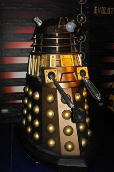 A Dalek in the Dr. Who museum, Cardiff.