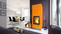 Profi W 7 (Front Profi K), Verkleidung: Zehendner Keramik, Mit Revisionsöffnung an der Rückseite. Home Appliances, Wall Decor, Wood, Design, Furniture, Home Decor, Fire Places, Panelling