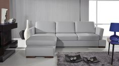 Moderní rohová souprava Helen 3 s výsuvnými polštáři Corner Sofa Bed Leather, Black Corner Sofa, Corner Sofa Bed With Storage, Leather Sofa, Sofa Design, Couch L Form, Rosa Sofa, Sofa Italia, Italian Sofa