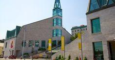 Museu da Civilização em Quebec #viagem #canada #viajar