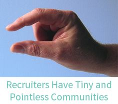 Does Size Matter to Agency Recruiters? | Social Media for Recruiters | Barclay Jones