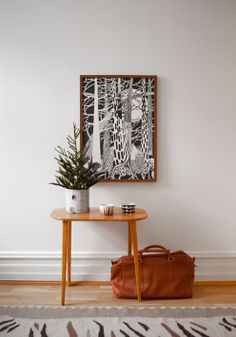 Fine Little Day Shop news 2 – The Forest Poster | Fine Little Day