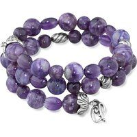 Carolyn Pollack 925 Sterling Silver Charoite Amethyst Wrap Bracelet$139.99More details